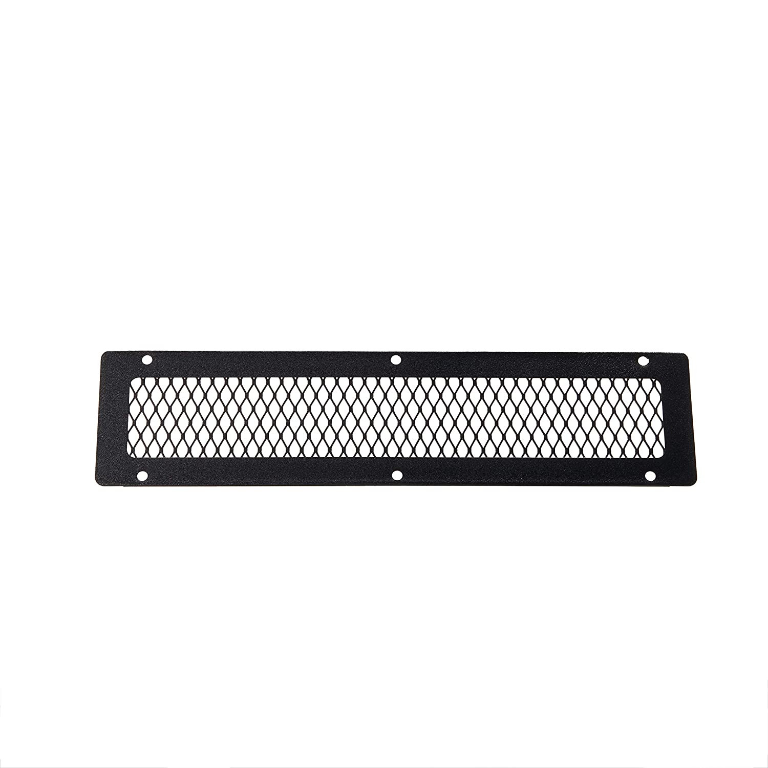 HY-C VG0416G-1G Galvanized Steel Soffit VentGuard with Gray Wildlife Exclusion Screen 16 x 4