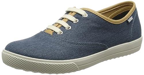 Hotter Mabel, Zapatos de Cordones Oxford para Mujer, Azul (Blue River 105), 38.5 EU