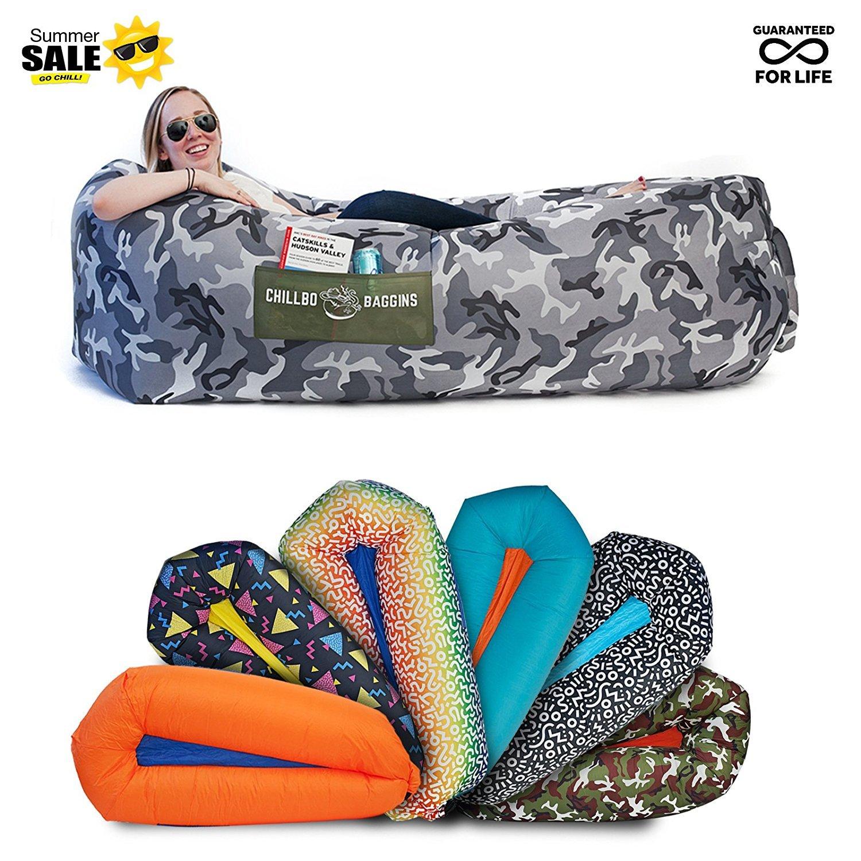 [Chillbo] [キャンプ場とフェスティバルバルーンラウンジ Baggins 2.0 Best Balloon Recliner Ideal Summer Gift Air Lounge for Indoor] (並行輸入品) B07DXDPD98 One Size|Urban Camo Urban Camo One Size
