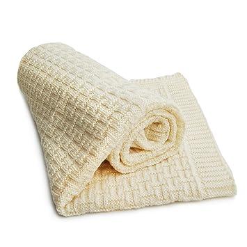 Sonnenstrick 0610563326914 Couverture douce pour bébé 100% laine Mérinos 80  x 90 cm 02db6bfb939