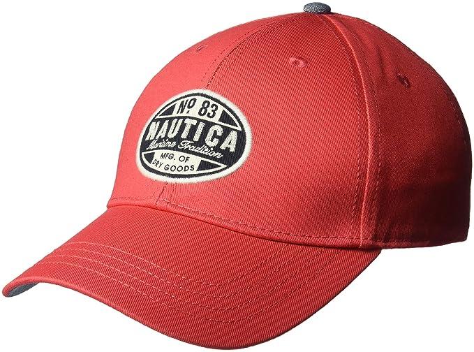 Nautica Men s Twill Adjustable Baseball Cap Hat add9aaa5a3a7
