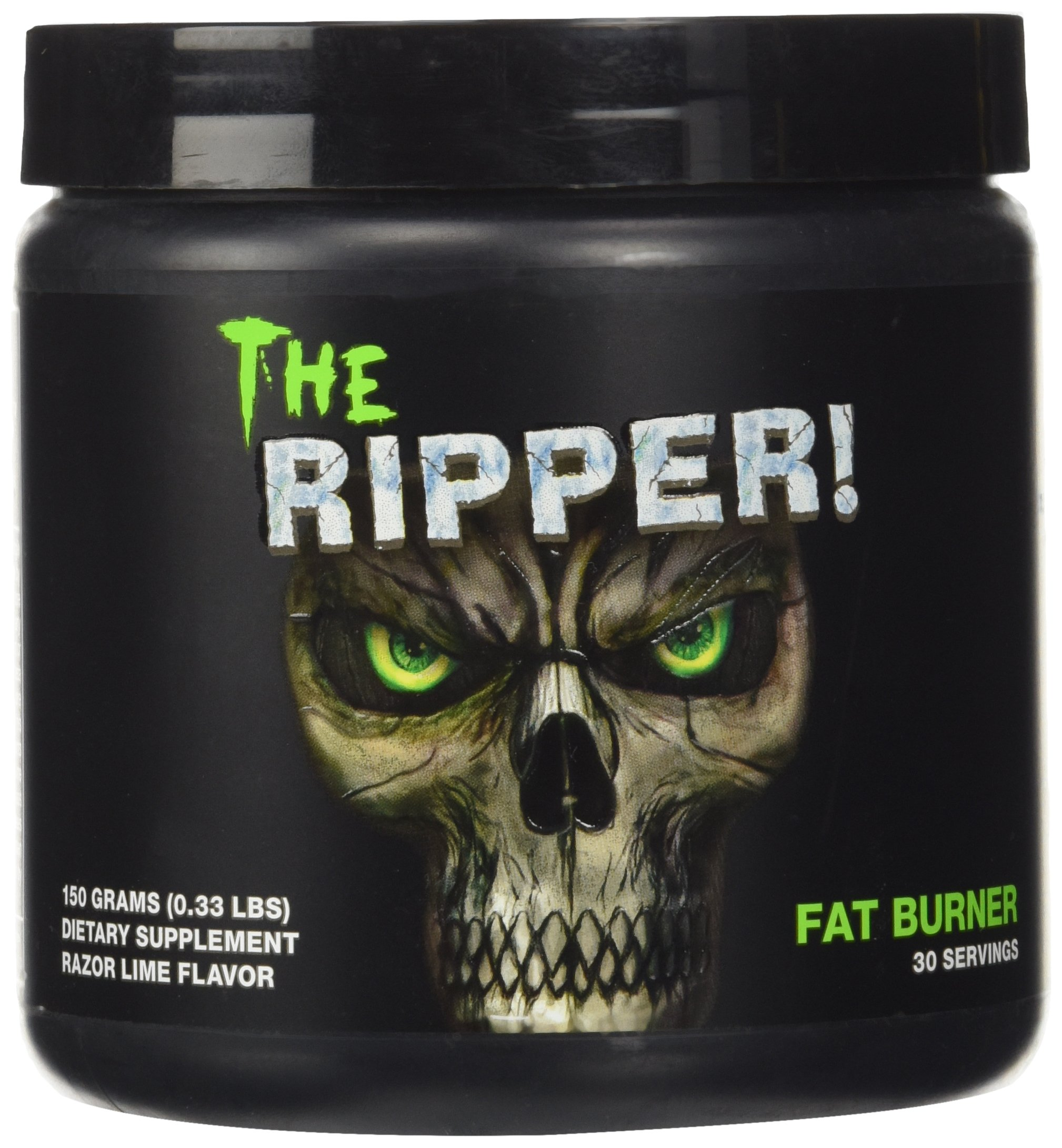 Cobra Labs The Ripper Weight Loss Supplement, Razor Lime, 30 Servings, 0.33 Pound by Cobra Labs