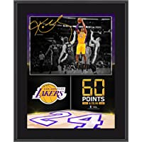 "Kobe Bryant Los Angeles Lakers 10.5"" x 13"" 60 Point Finale Sublimated Plaque - NBA Team… photo"