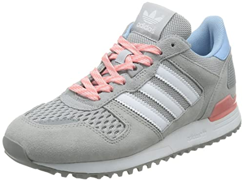 buy online a0a87 95d34 Adidas Women s ZX 700 W, LGRANI White Pink, 7.5 US