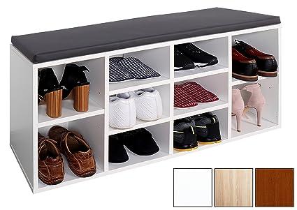 Credenza Per Corridoio : Tresko scarpiera per 10 paia di scarpe con possibilità seduta