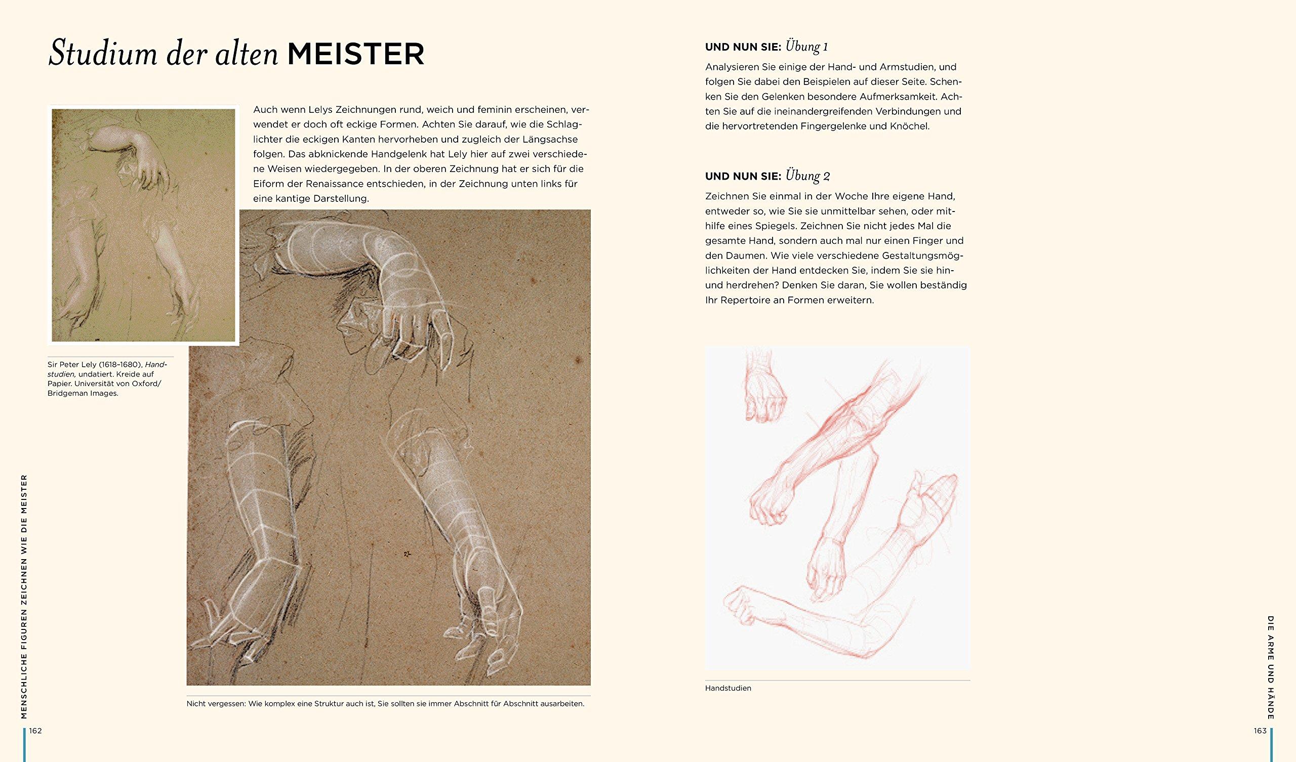 Menschliche Figuren zeichnen wie die Meister: Aktzeichnen endlich ...