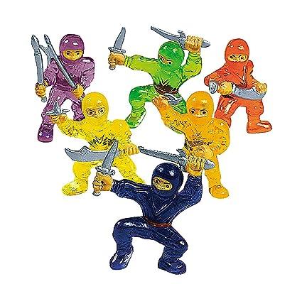 Amazon.com: 12 pieza juguete Ninja Warriors: Toys & Games