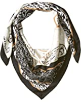 BCBGeneration Women's Patched Paisley Square Scarf