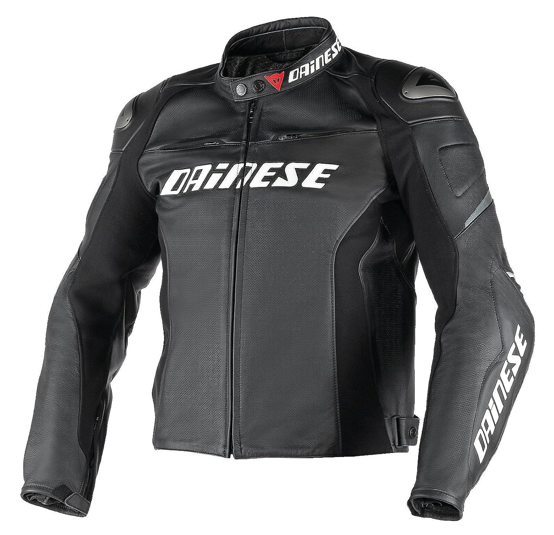 Amazon.com: DAINESE Racing D1 Perforated Jacket (Euro 56 / US 46, Black/Black/Black): Automotive