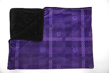 3934eeaff6 Amazon.com  Twitch Glitch Fleece Blanket  Home   Kitchen