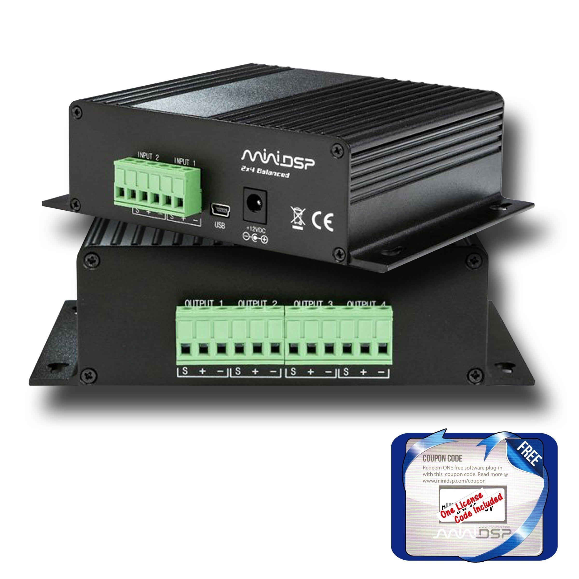 miniDSP Balanced 2x4 by miniDSP