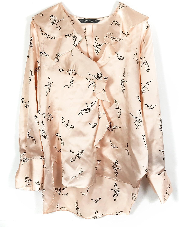Zara - Camisas - para mujer Rose X-Small : Amazon.es: Ropa y accesorios