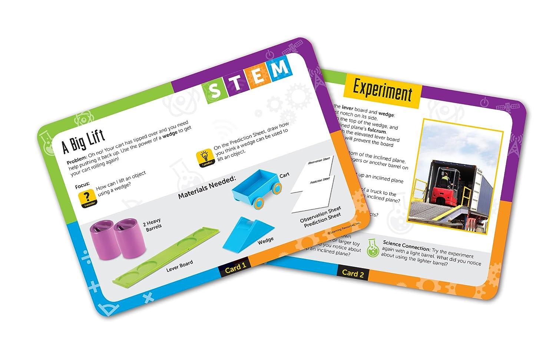 Learning Resources Stem - Juego de Actividades de máquinas Simples: Amazon.es: Juguetes y juegos