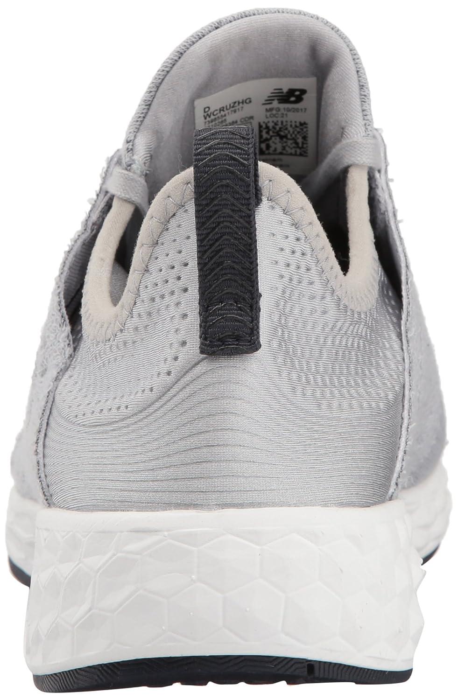 New Balance Women's Fresh Foam Cruz V1 Retro Hoodie Running Shoe B06XSDX768 11 B(M) US|Silver Mink/Outerspace