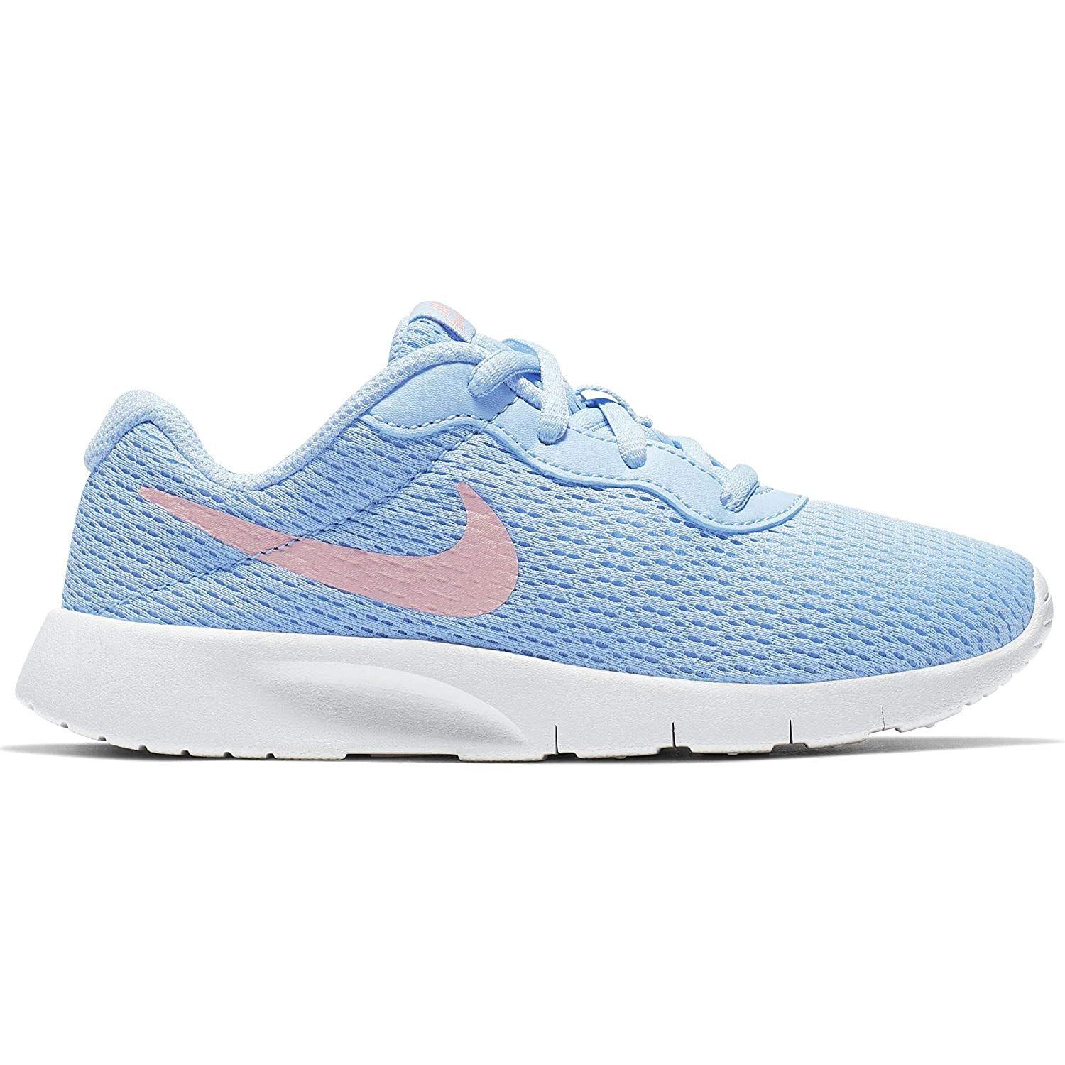 a6c894d0ddde9 Amazon.com | Nike Girl's Tanjun Shoe Psychic Blue/Bleached Coral ...