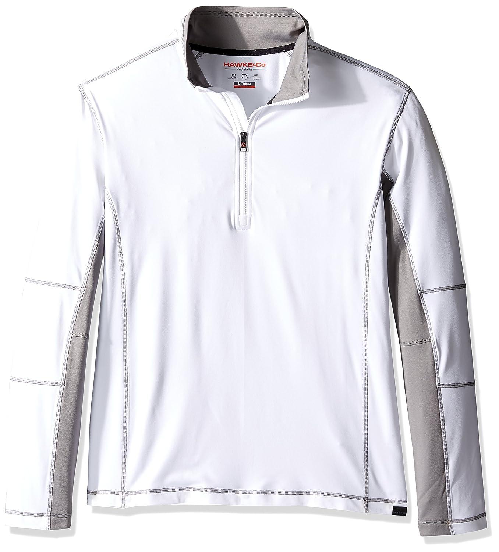 Men/'s Outerwear HEF790Z Hawke /& Co Mens Tech Fleece 1//4 Zip Jacket Hawke and Co