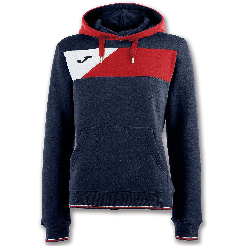 Amazon.com : Joma Teamwear Sweater Hoodie Hooded Crew II Womens Black-Grey Uniforms Felpa : Sports & Outdoors