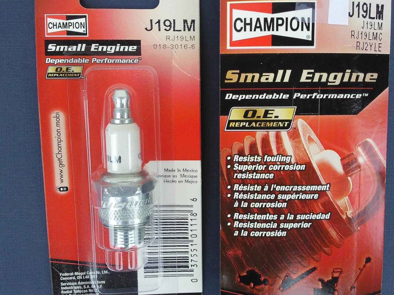 CHAMPION SPARK PLUG J19LM #861-1 Replaces RJ19LM B2 B2LM B4LM B4LMBL1 B4LMYBL1
