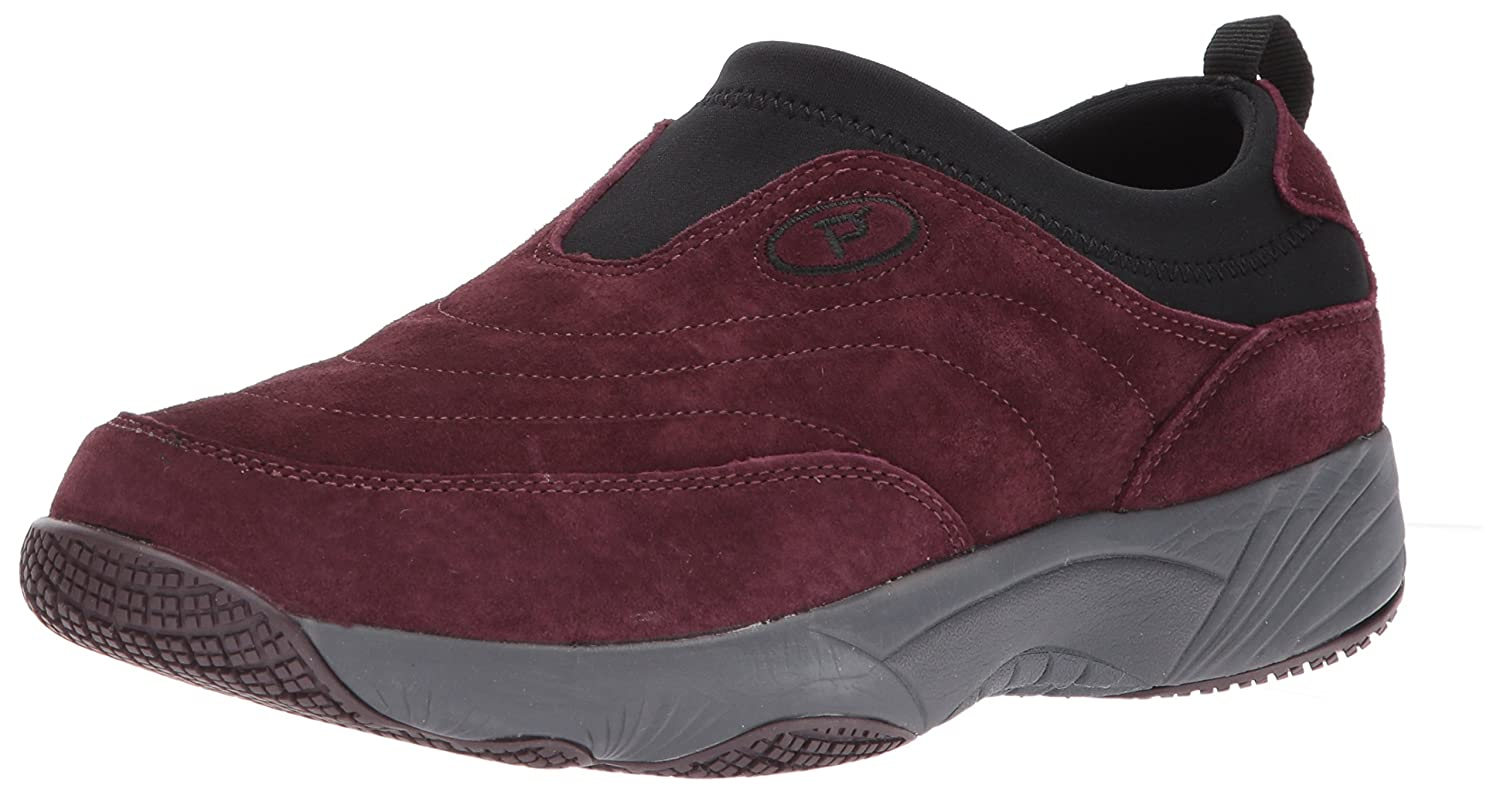 Propet Women's Wash N Wear Slip B01MYU8C9U on Ll Walking Shoe B01MYU8C9U Slip 10 W US|Sr Merlot Suede 303b4c
