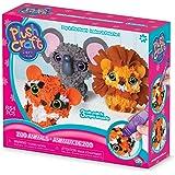 "The Orb Factory Zoo Animals 3D Multi Mini Arts & Crafts, Brown/Orange/Grey/White/Black/Yellow, 10"" x 3"" x 8.5"""