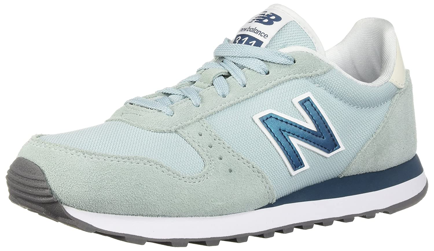 New Balance Women's 311v1 Sneaker B0751PSR3Y 8.5 B(M) US|Stardust/North Sea
