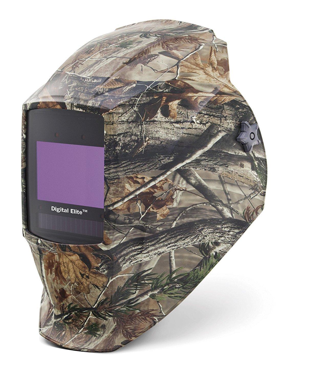 Auto Darkening Welding Helmet, Green/Brown, Digital Elite, 8 to 13 Lens Shade by Miller Electric B008G8YAB8