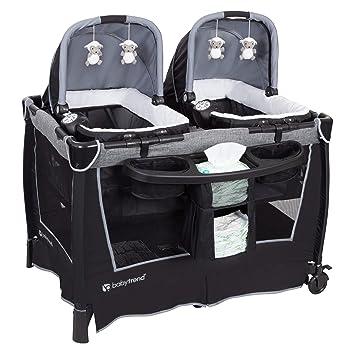 Amazon.com: Baby Trend Retreat Twins - Centro de guardería ...
