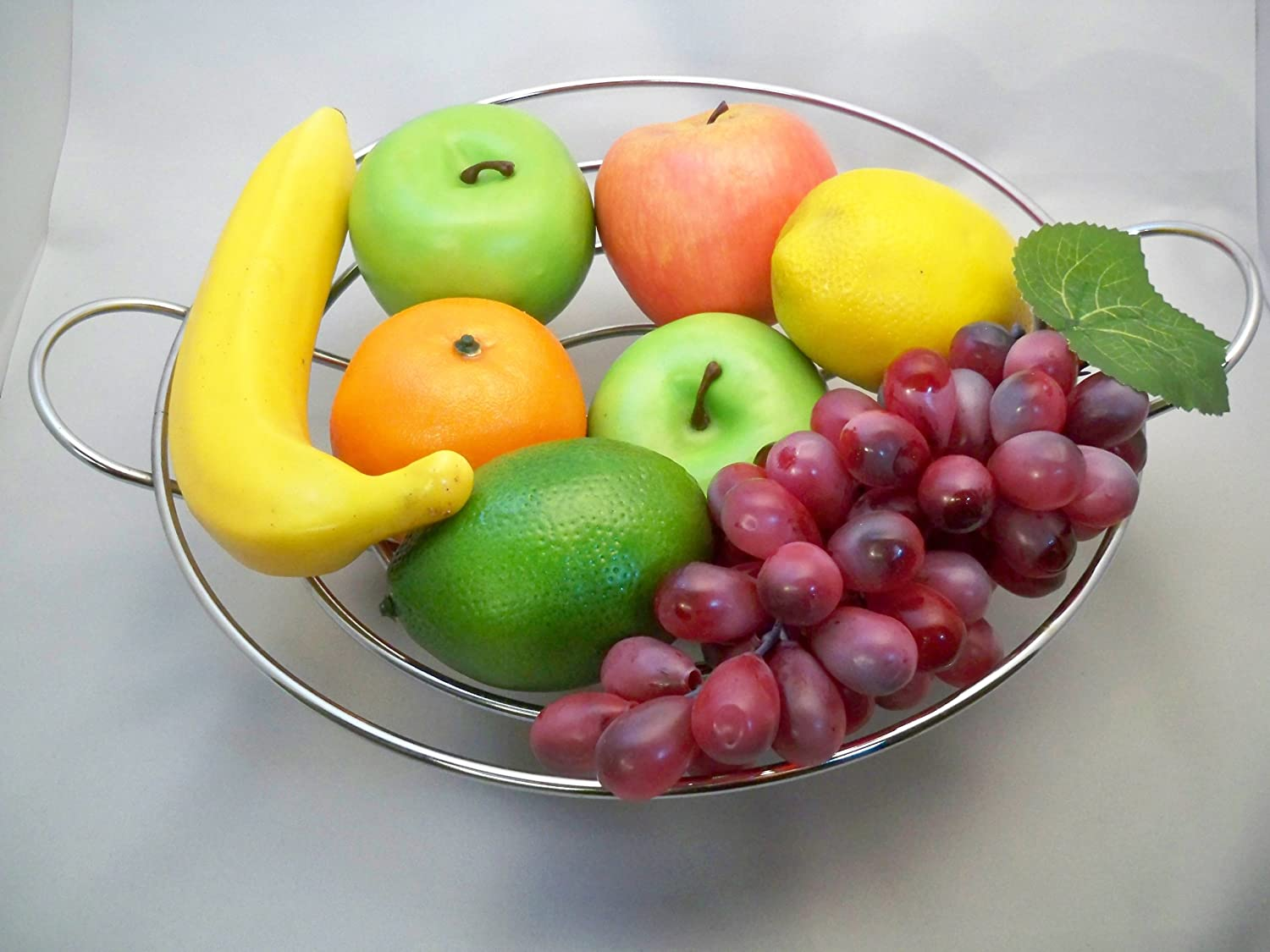 8 Pieces of Mixed Artificial Decorative Fruit Display i-Horizon Plus