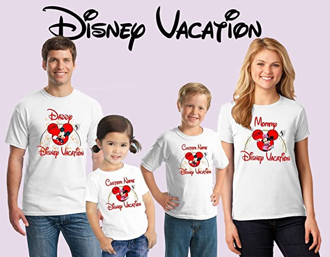 751608d60 Amazon.com: Family disney world shirts 2018, Disney Family Shirts, Matching  Family Disney Shirts, Personalized Disney Shirts for Family: Handmade