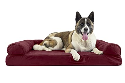 Sensational Furhaven Pet Dog Bed Sofa Style Couch Pet Bed For Dogs Cats Available In Multiple Colors Styles Bralicious Painted Fabric Chair Ideas Braliciousco