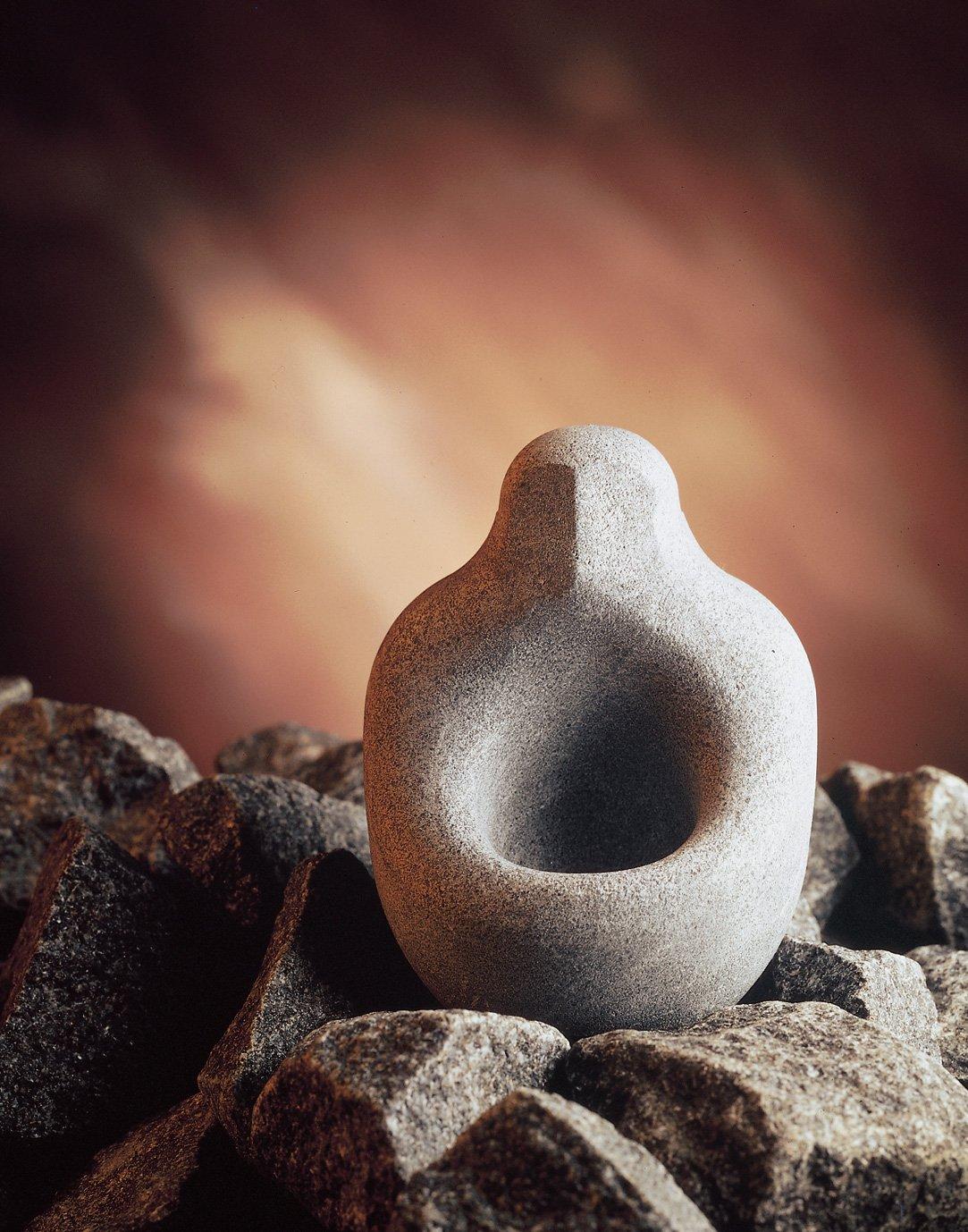 Hukka Design - Soapstone Essence Cup for the sauna oven -Lö ylynhenki- (Sauna spirit) 30 ml (Original from Finland) [11001]
