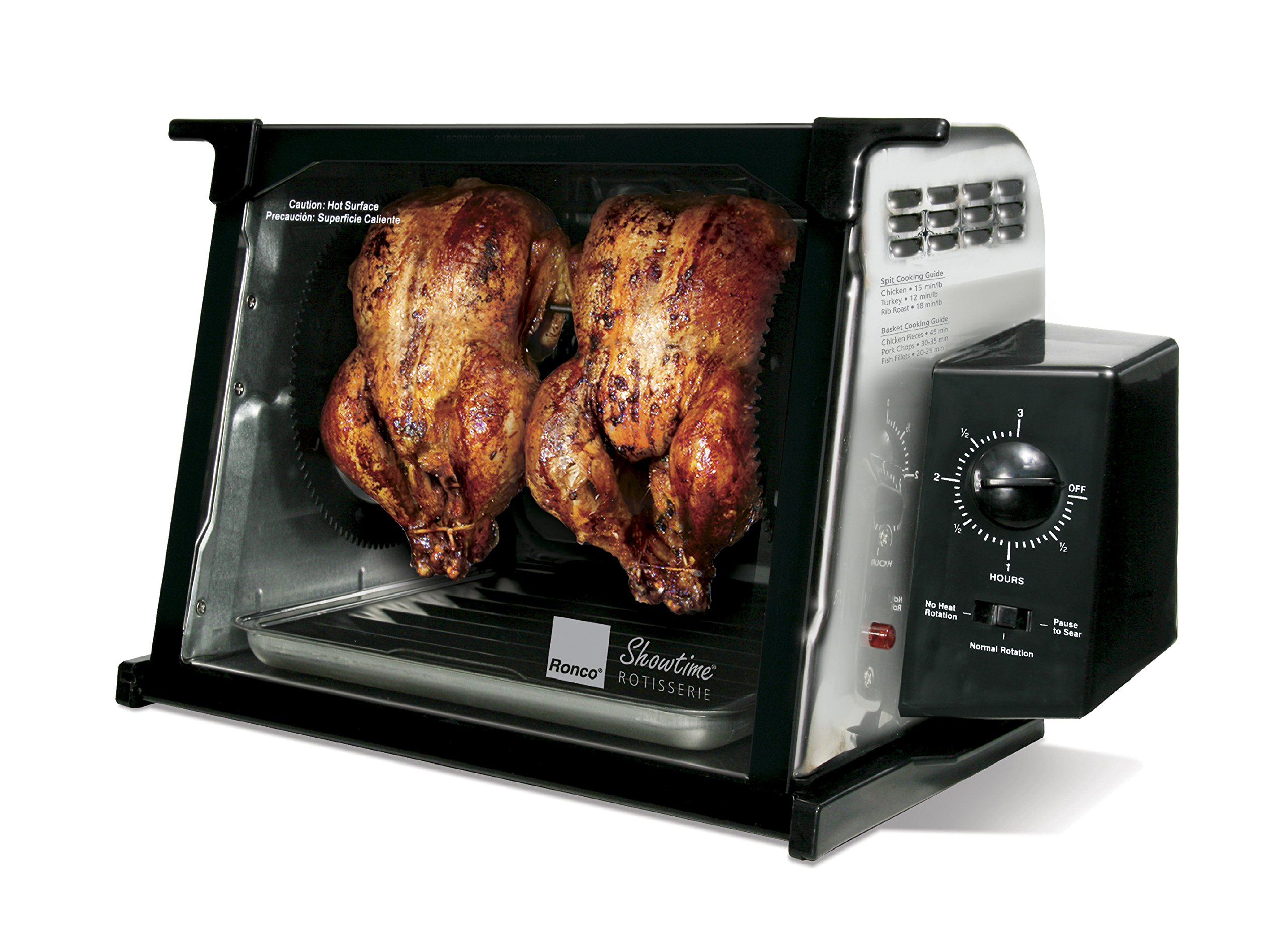 Ronco 4000 Series Rotisserie, Stainless Steel by Ronco