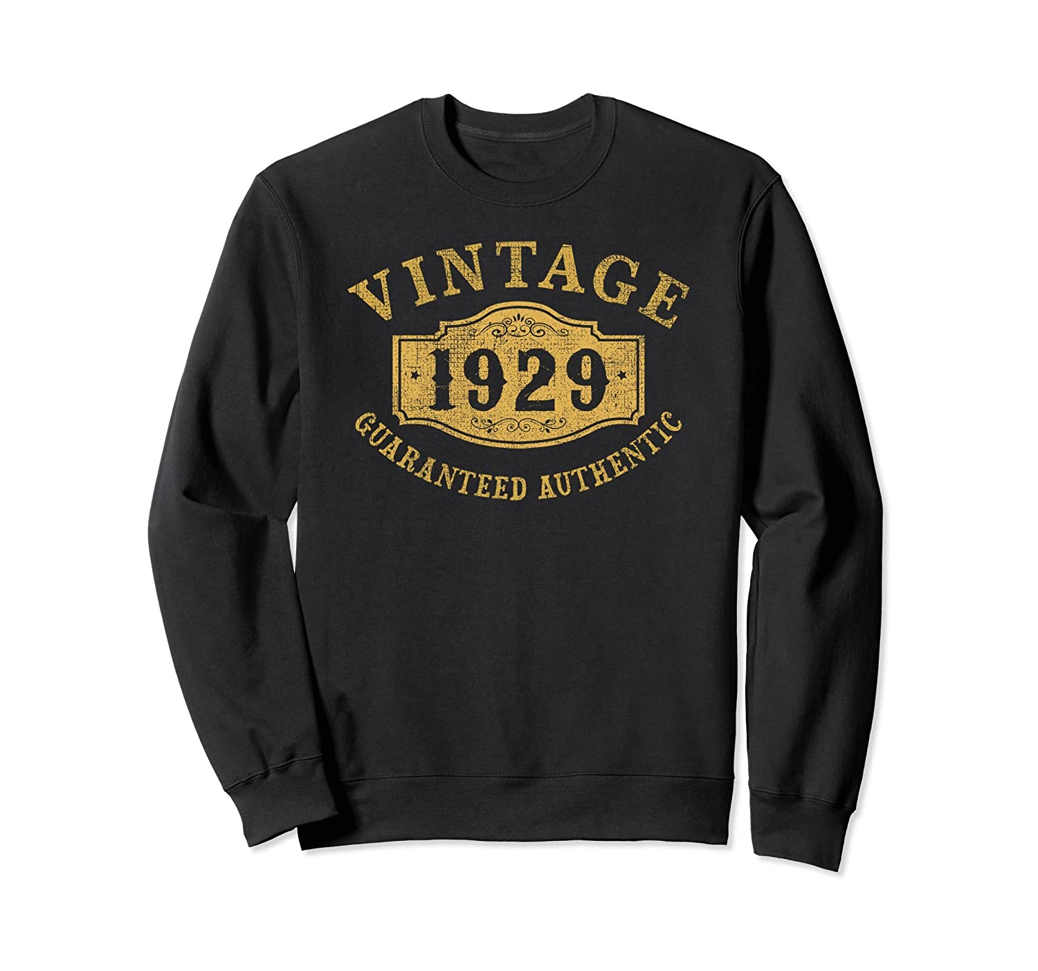 1929 Authentic 89 years old 89th Birthday Gift Sweatshirt-TH