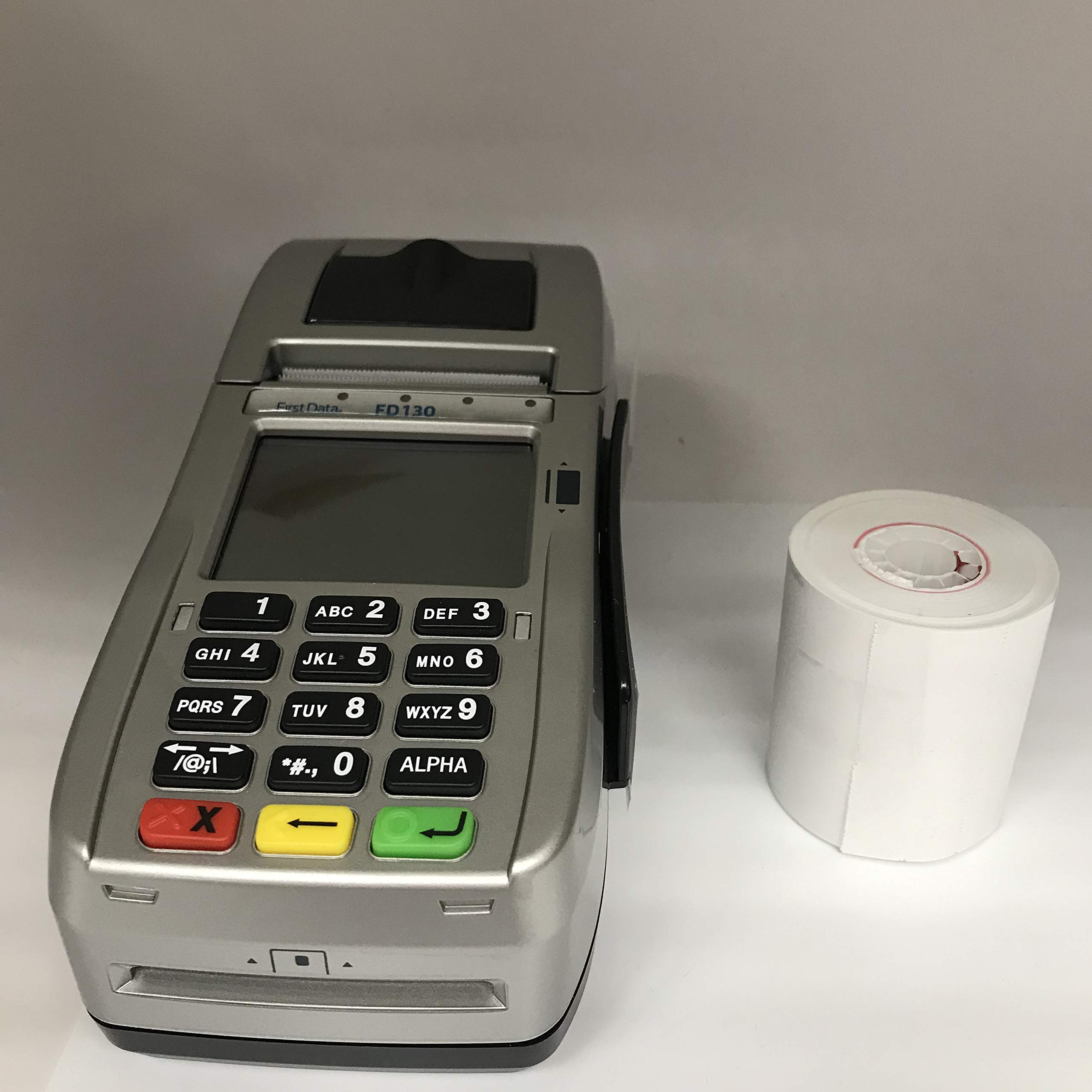 FD-130 Credit Card Terminal with 2 1/4'' x 85' Thermal Paper (24 Rolls) Bundle
