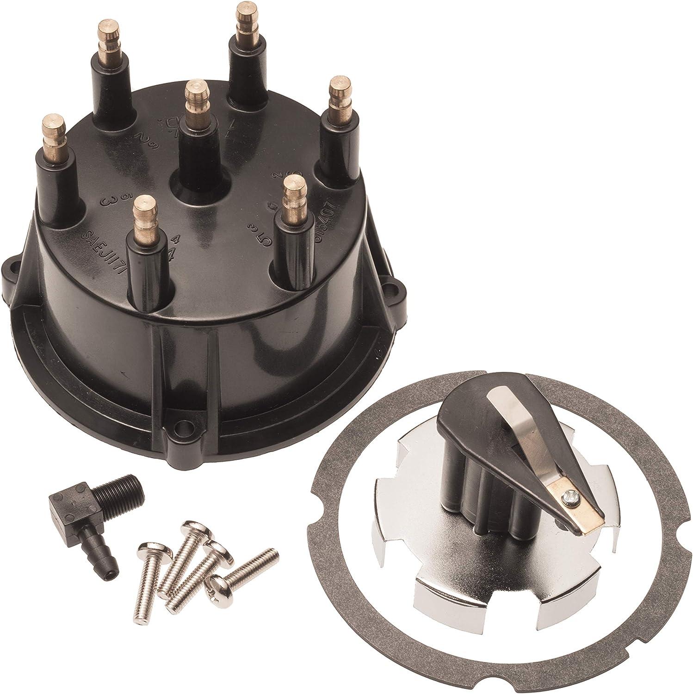 Distributor Cap /& Rotor Kit for Mercruiser V6 4.3 Thunderbolt Ignition 815407Q5