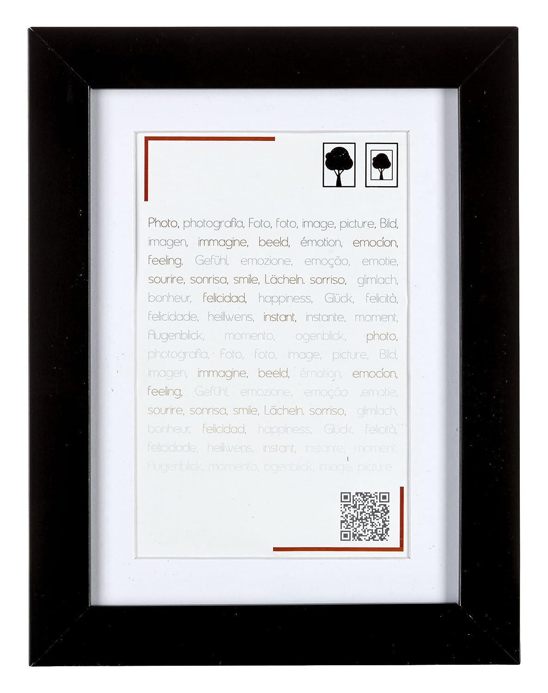 Brio 34589 Smart Noir Cadre 18X24 Ouv 13X18 Smart N Bois 3x21x27 cm