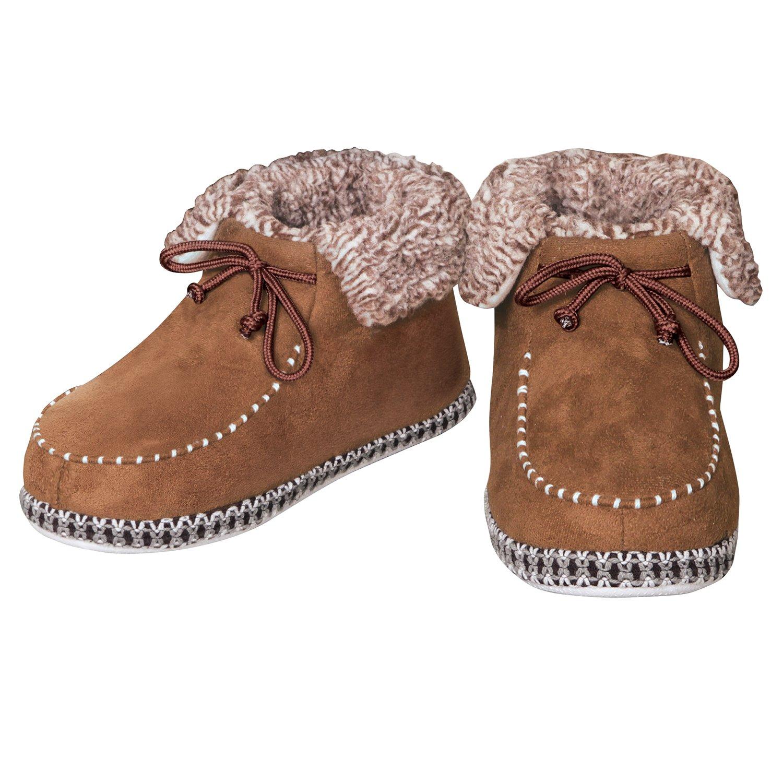 Snug N' Comfy Ankle Boots, Mens, Size 10
