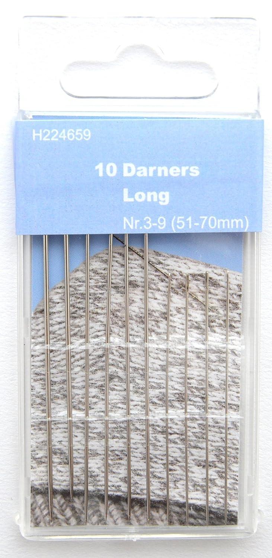 Argento TSL 10/Long Aghi da rammendo