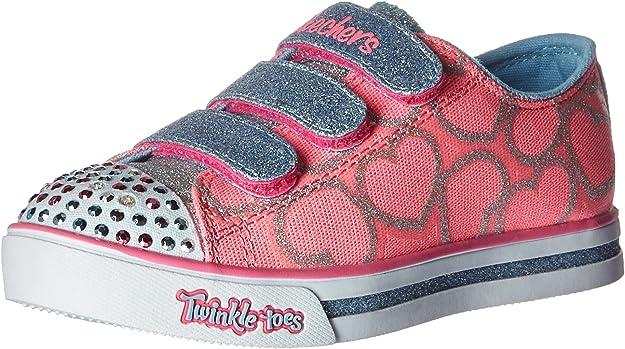 Skechers Mädchen Sparkle Glitz heartsy Glam Sneakers: Amazon ruaoM