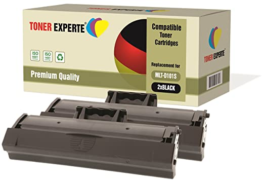 67 opinioni per Kit 2 TONER EXPERTE® MLT-D101S Toner compatibili per Samsung ML-2160 ML-2165W