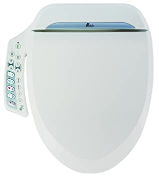 easy home toilet seat. Bio Bidet Ultimate BB 600 Advanced Toilet Seat  Elongated White Easy DIY