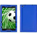 Bobj for Lenovo Tab 2 A8-50, A8-50F, also fits Lenovo Tab 3 TB3-850F, TB3-850M – BobjGear Protective Tablet Cover (Batfish Blue)