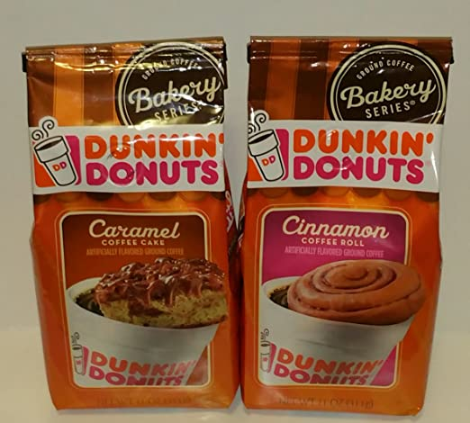 Amazon Com Dunkin Donuts Bakery Series Caramel Coffee Cake