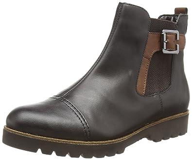 215c3528 Remonte Dorndorf Women's D0173 Boots Black Schwarz (Schwarz/Schwarz/Brandy  / 01)