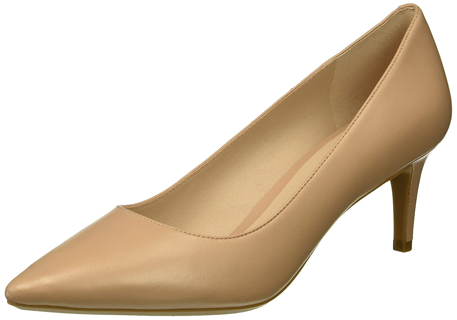 Nine West Women's SOHO9X9 Leather Pump B076HPGMZB 8 B(M) US|Medium Natural