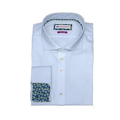 the best attitude 91d7d 35836 VON FLOERKE Slim Fit Business-Hemd/Hochwertige Business  Hemden/Haifischkragen Hemd/Ausgefallene Herrenhemden