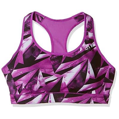 adidas Performance Womens Racer Back Sports Bra - Purple/Navy