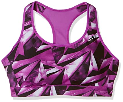 690c2de5c397e Amazon.com: adidas Performance Womens Racer Back Sports Bra - Purple ...