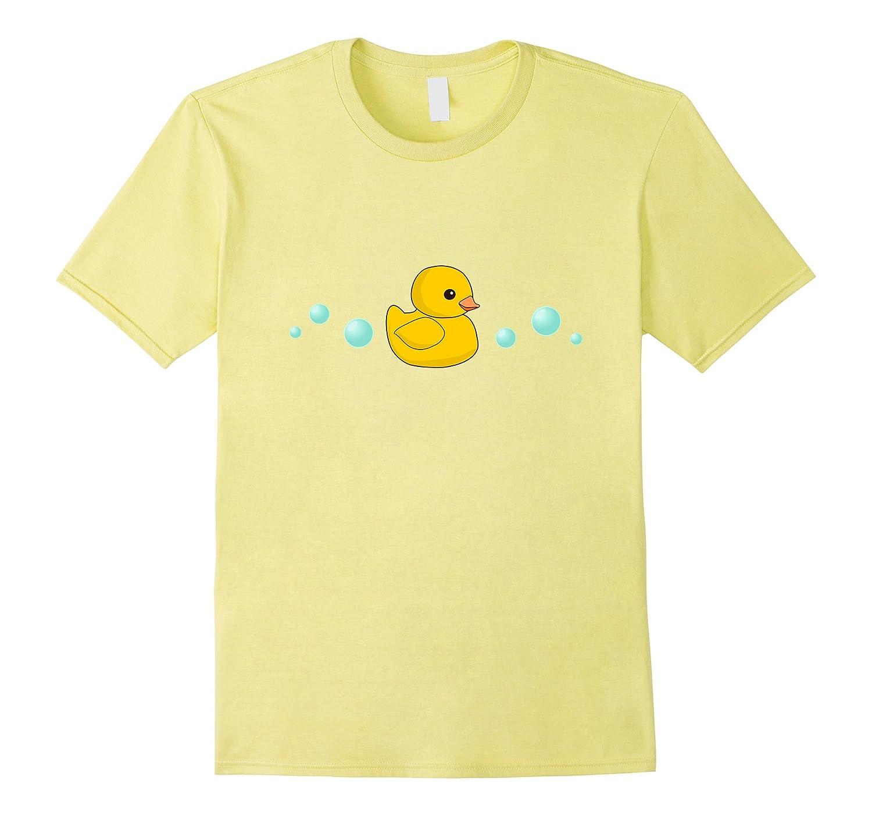 d4b193b16 Cute Yellow Rubber Ducky T-shirt – Duck tshirt Duckie shirt-RT ...
