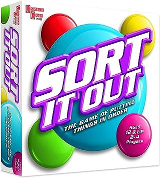 UNIVERSITY GAMES BOX-01273 Juego de Mesa Sort It out: Amazon.es: Juguetes y juegos